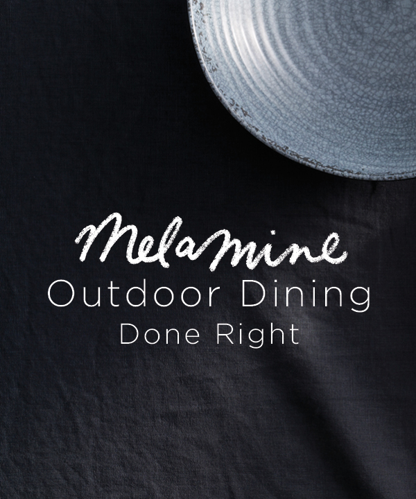 Melamine Outdoor Dining Done Right
