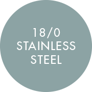 18/0 Stainless Steel