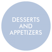 Desserts and Appetizers