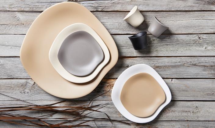 & Marisol Dinnerware - Delfin - Melamine - Dinnerware