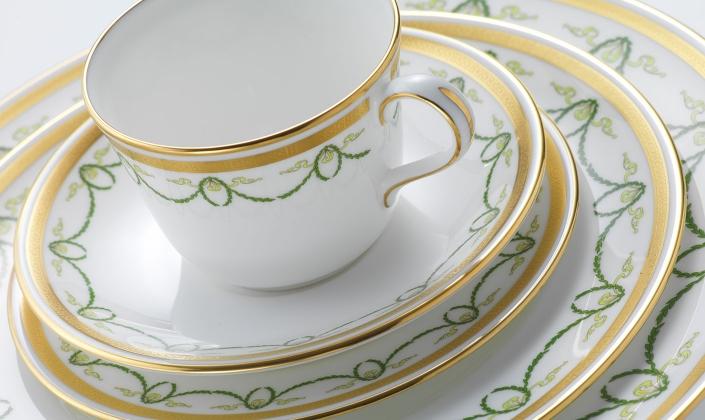 & Titanic - Royal Crown Derby - Bone China - Dinnerware