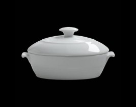 Large Oval Bowl W/Lid  6300P036