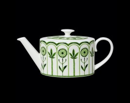 2 Cup Oval Teapot  82112AND0337