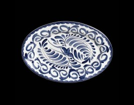 Oval Platter Rolled Ed...  A120P145