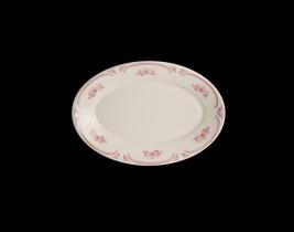 Oval Platter Rolled Ed...  HL1532