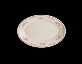 Oval Platter Rolled Ed...  HL1542