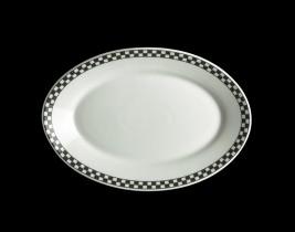 Oval Platter Rolled Ed...  HL1551636