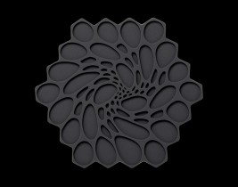 Graphite Hive Trivet  MTTVHI00307
