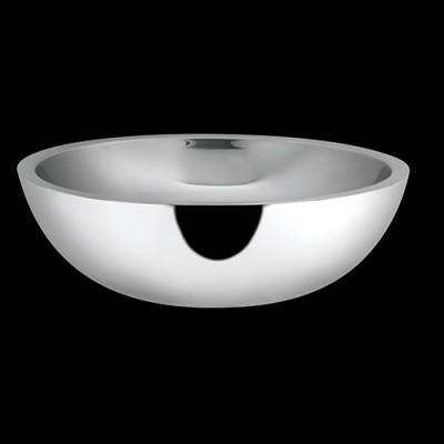 Dobbelt S/S Round Shallow Bowl
