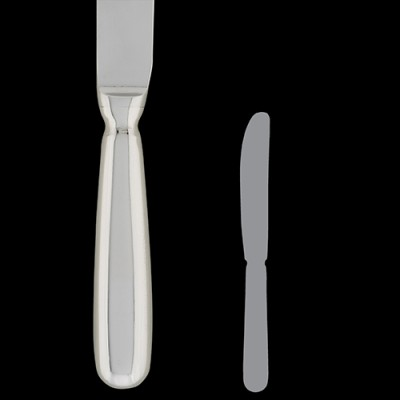 Butter Knife (Heavy Solid Handle)