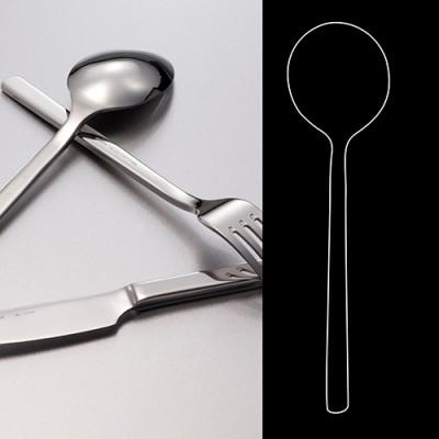 Round Bowl Soup Spoon