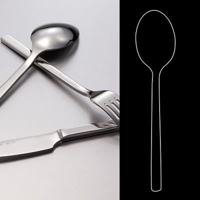 European Tea Spoon