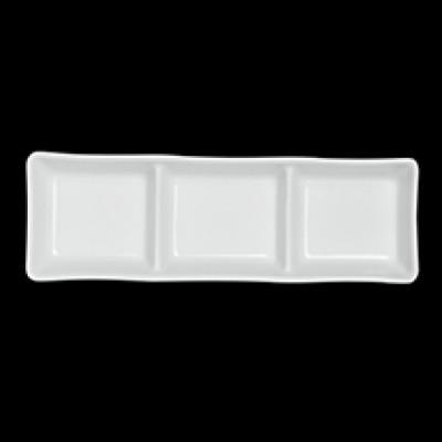3 Compartment Dish