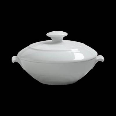 Medium Low Bowl W/Lid