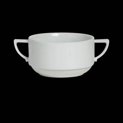 Stack Bouillon Cup W/Handles
