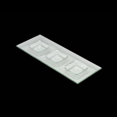 Clear Tri Plate