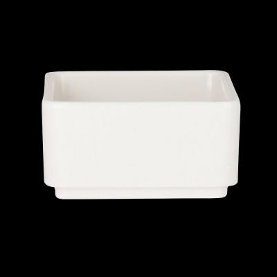 Square Insert Bowl White