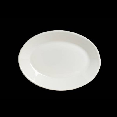 Oval Platter Rolled Edge
