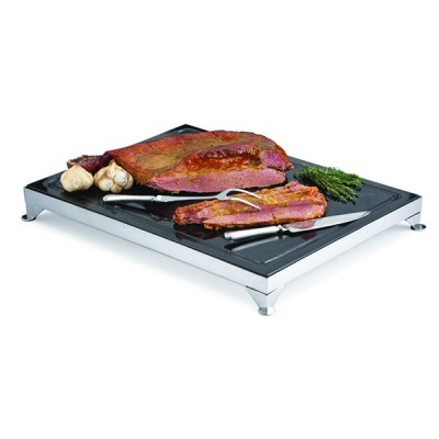 Carving Board Black Granite With Frame