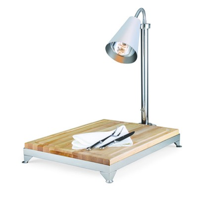 Carving Board Wood With Frame And Heat Lamp