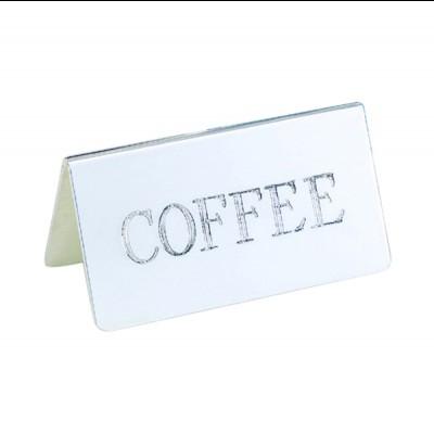Coffee ID Tent Card