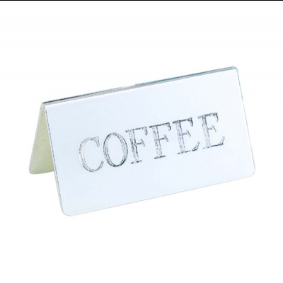Decaf ID Tent Card