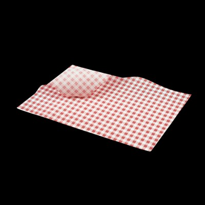 Greaseproof Paper Red Gingham