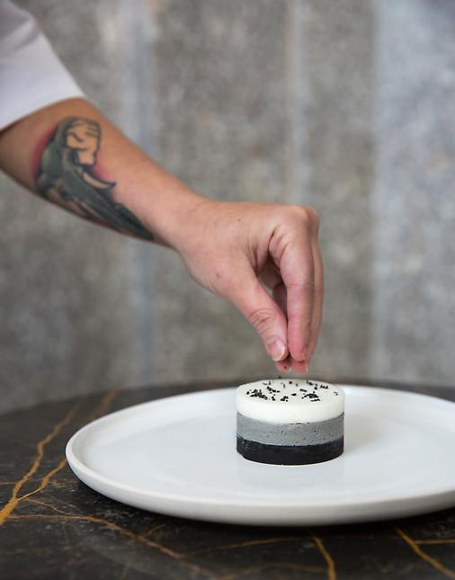 Pastry Chef Manuela Sanin